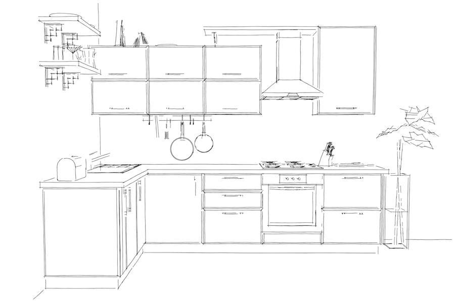 Kuchyňské linky rohové