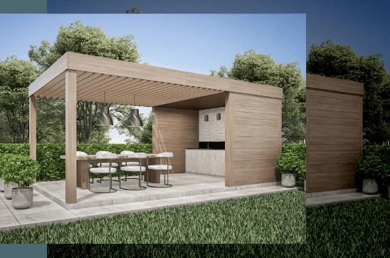 Truhlářství Hubač - Pergoly a dřevěné terasy